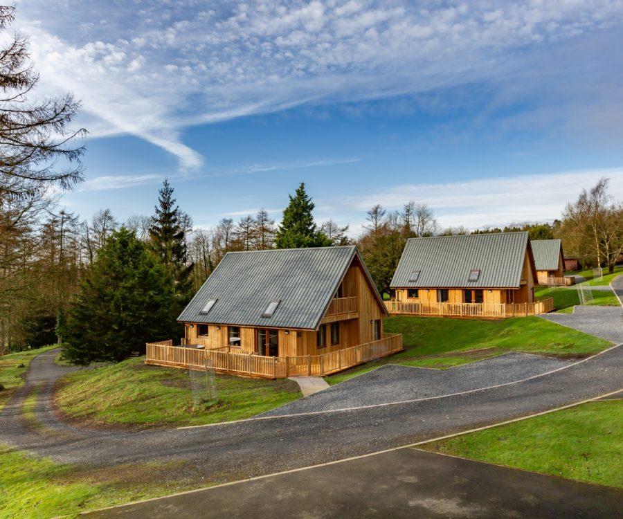 Conifer Lodges in Newton Stewart